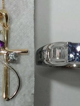 Photo of vintage pendants Northwest Indiana.