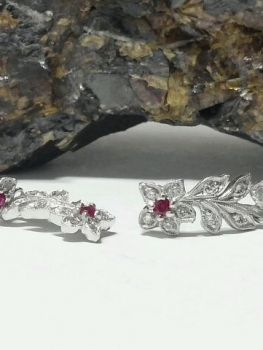 Photo of diamond earrings Crown Point.