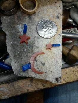 Photo of celestial jewelry Northwest Indiana.