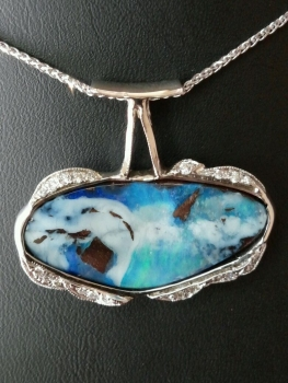Photo of St. John necklace.