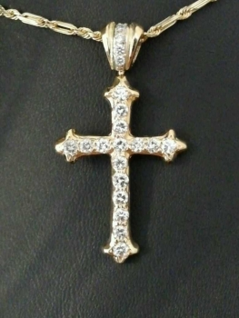 Photo of cross necklace Northwest Indiana.