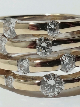 Photo of stacking rings Crown Point.
