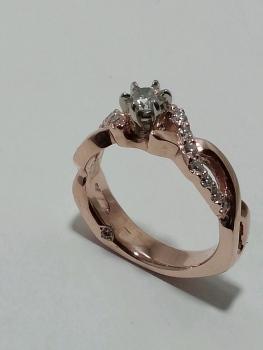Photo of St. John promise ring.