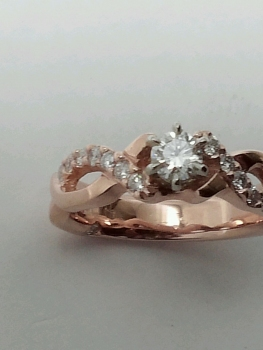Photo of Munster promise ring.