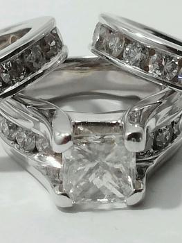 Photo of gorgeous diamond wedding ring set Crown Point.