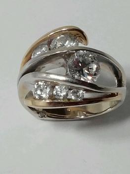 Photo of custom two tone jewelry Schererville.
