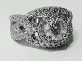 Photo of vintage wedding jewelry Northwest Indiana.