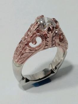 Photo of Northwest Indiana rose gold jewelry.