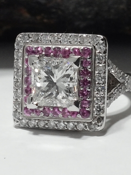Photo of vintage engagement ring Crown Point.