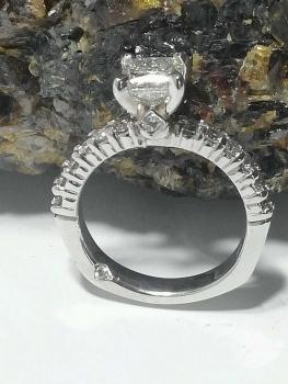 Photo of custom wedding ring Hobart.