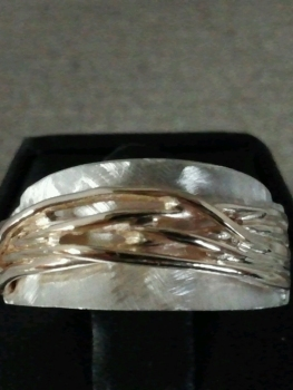 Photo of mens wedding band.