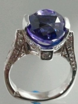 Photo of sapphire ring Munster.