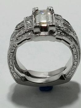 Photo of Cedar Lake wedding ring.