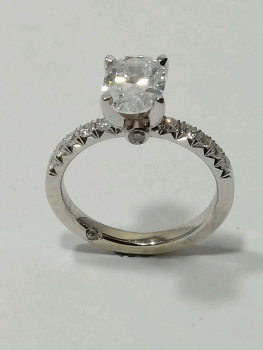 Photo of Dyer promise ring.