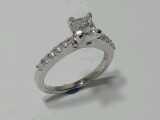 Photo white gold wedding ring Valparaiso.