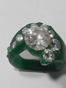 Photo of custom ring Dyer.