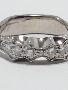 Photo of gunmetal ring Northwest Indiana