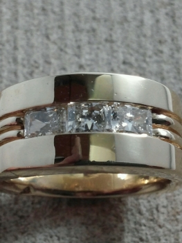 Photo of mens wedding band Crown Point.