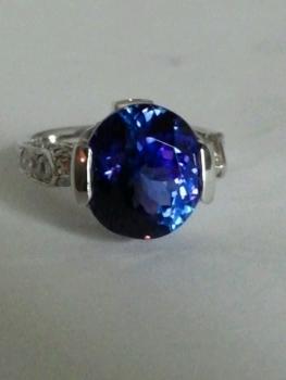 Photo of sapphire ring Schererville.